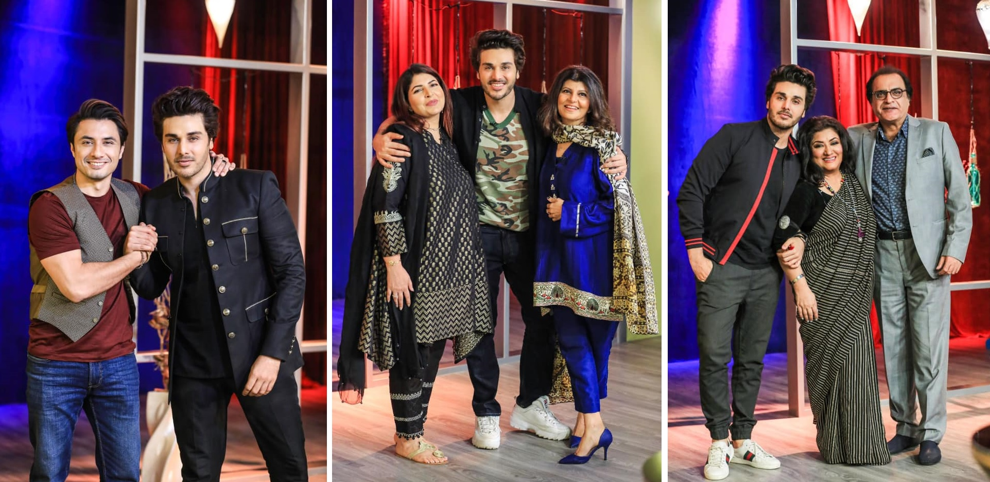 Pakistani Famous Celebrities At Bol Nights with Ahsan Khan