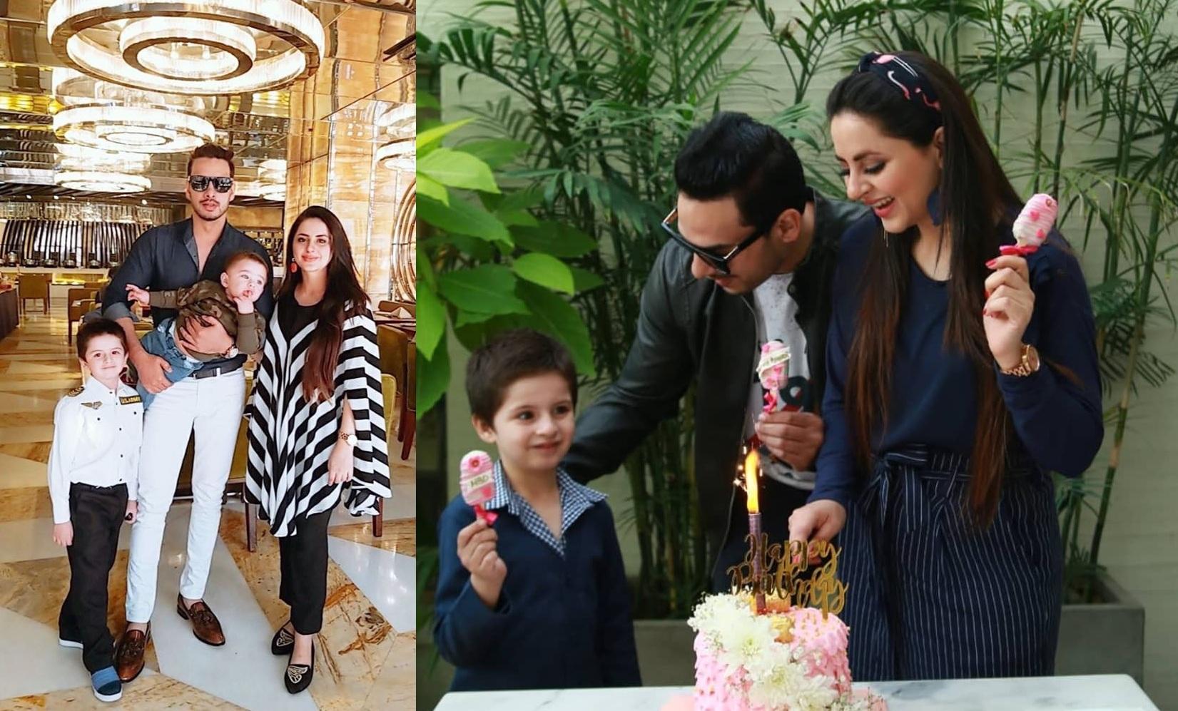 Fatima Effendi Actress Birthday Celebration with Family (1)