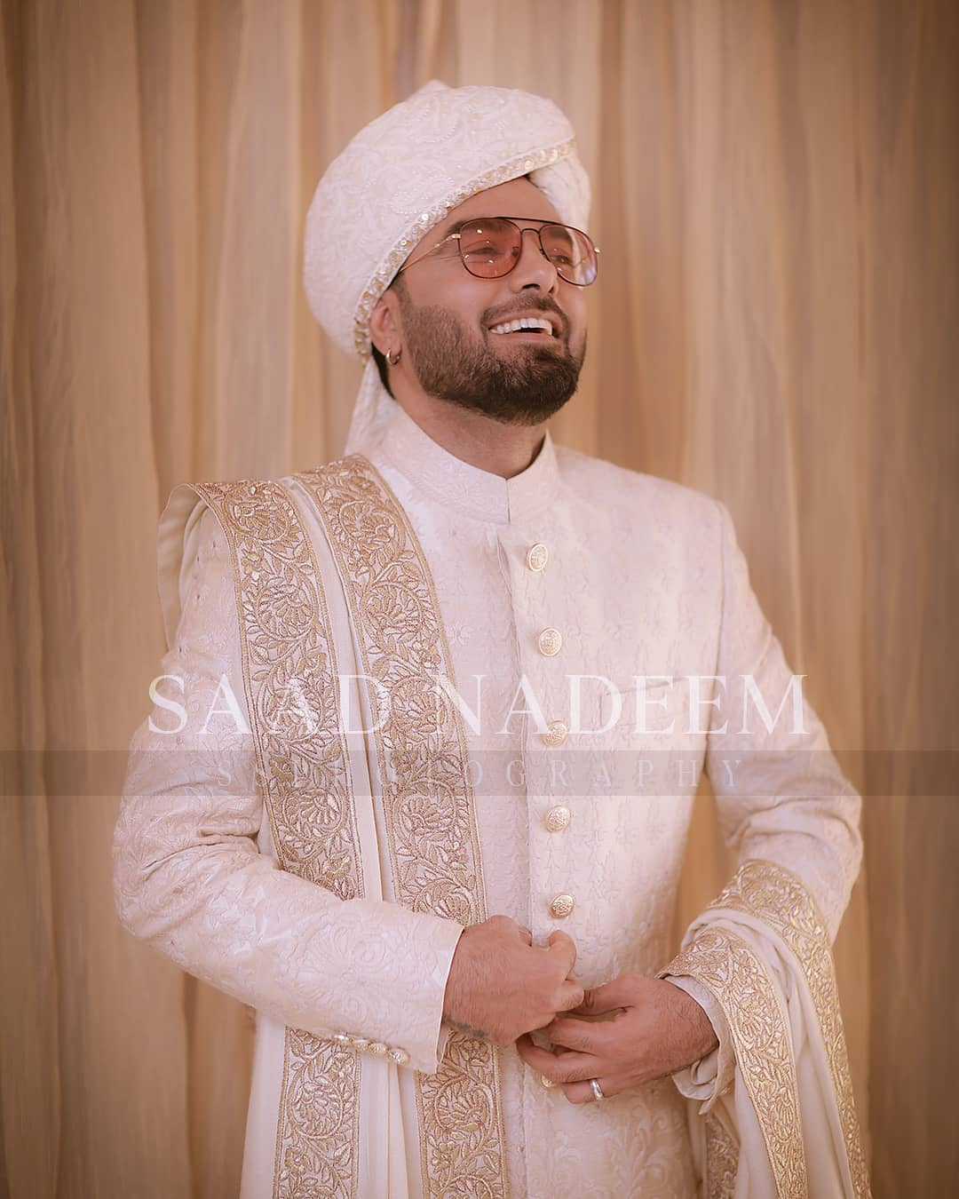 Iqra Aziz and Yasir Hussain Wedding Pictures (34)