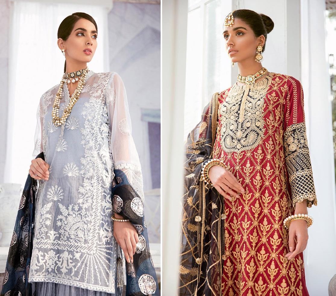 Luxury Dresses Designs Looks By Cross Stitch (1)