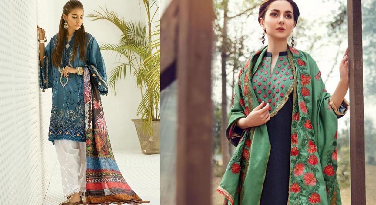 Womens Winter Ready To Wear Kurta Designs 2019-20 (1)