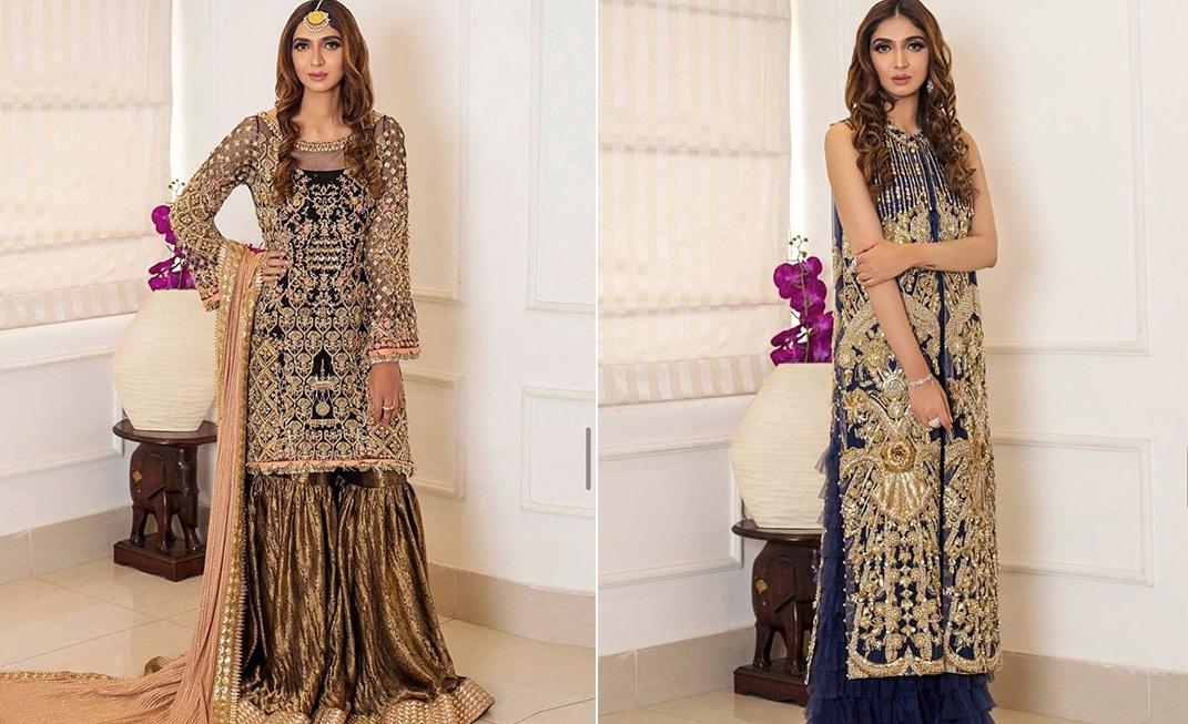 Six Bridal Trendy Formal Wear Designs 2020 By Shiza Hassan (1)