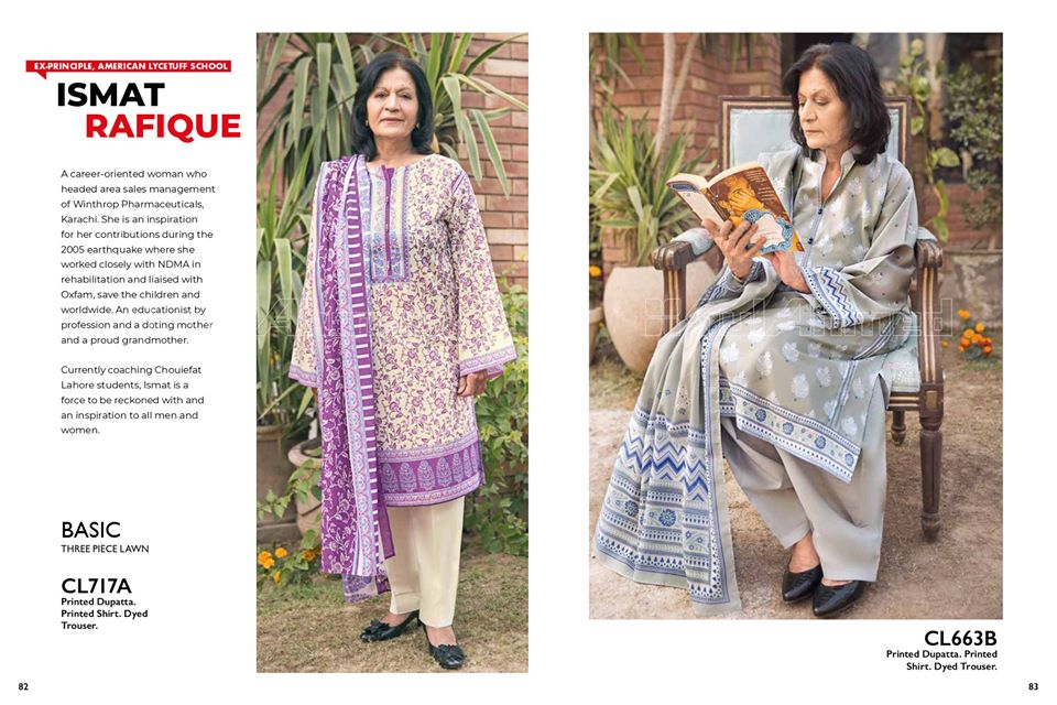 Gul Ahmed SpringSummer Dresses Collection 2020 For Mothers (11)