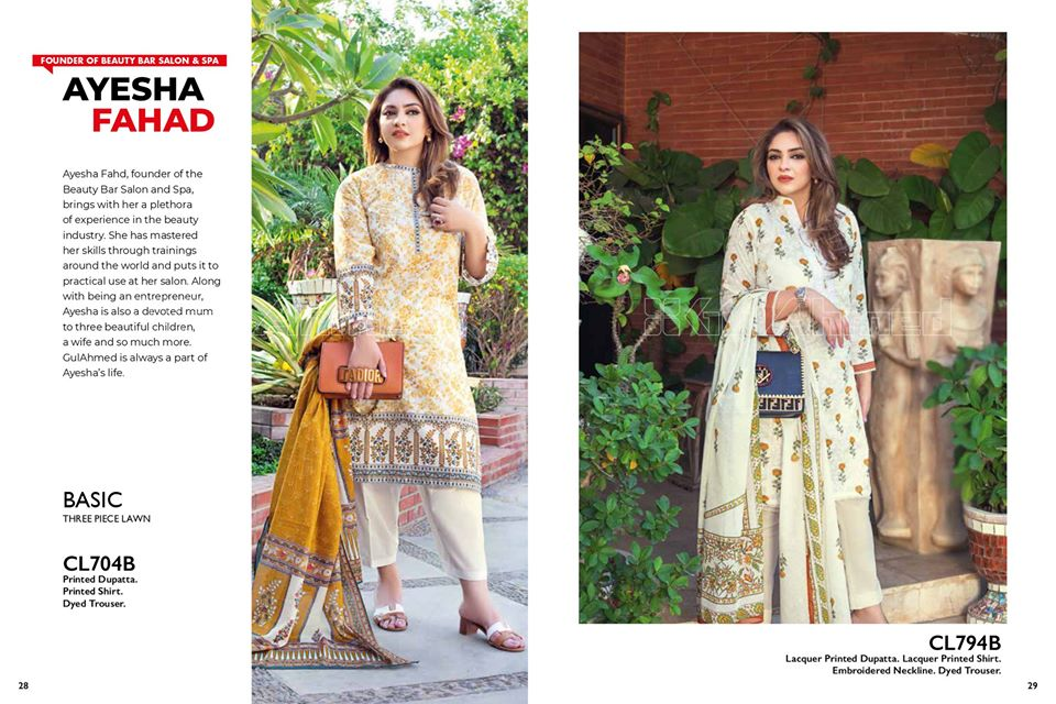 Gul Ahmed SpringSummer Dresses Collection 2020 For Mothers (15)