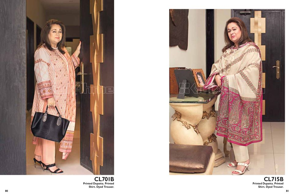 Gul Ahmed SpringSummer Dresses Collection 2020 For Mothers (16)