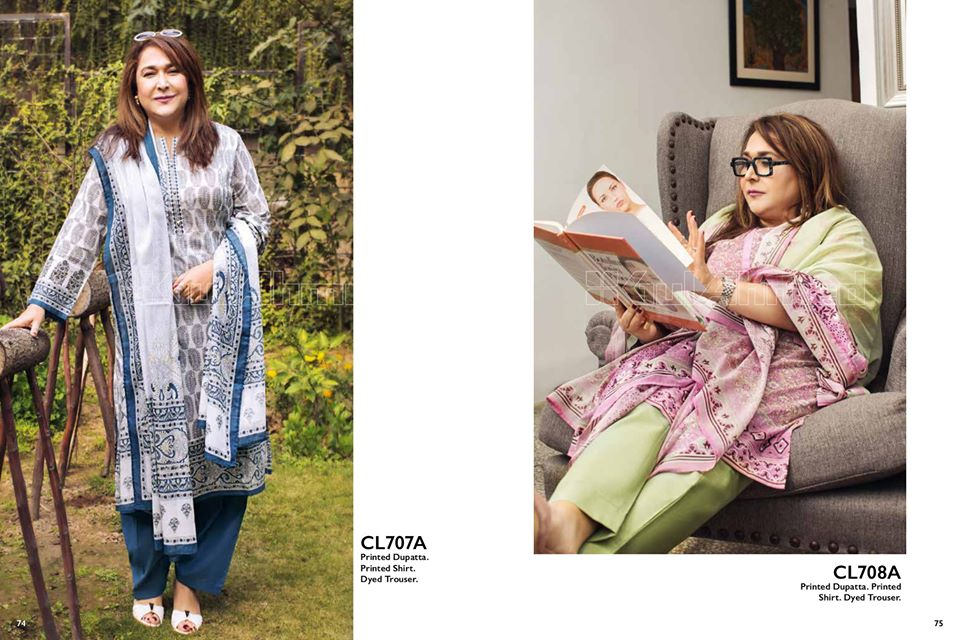 Gul Ahmed SpringSummer Dresses Collection 2020 For Mothers (22)