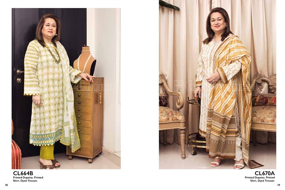 Gul Ahmed SpringSummer Dresses Collection 2020 For Mothers (24)