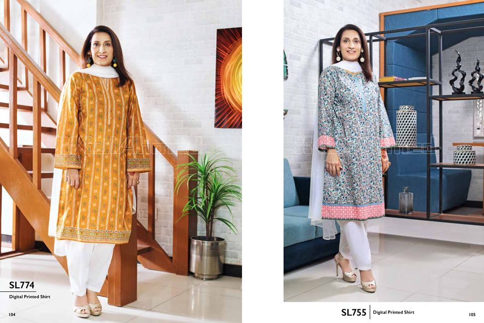 Gul Ahmed SpringSummer Dresses Collection 2020 For Mothers (39)