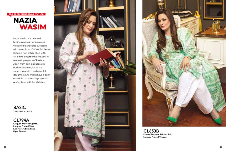 Gul Ahmed SpringSummer Dresses Collection 2020 For Mothers (5)