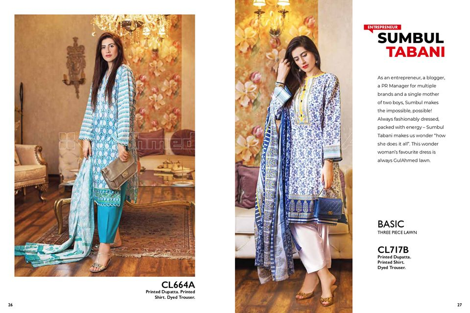 Gul Ahmed SpringSummer Dresses Collection 2020 For Mothers (7)
