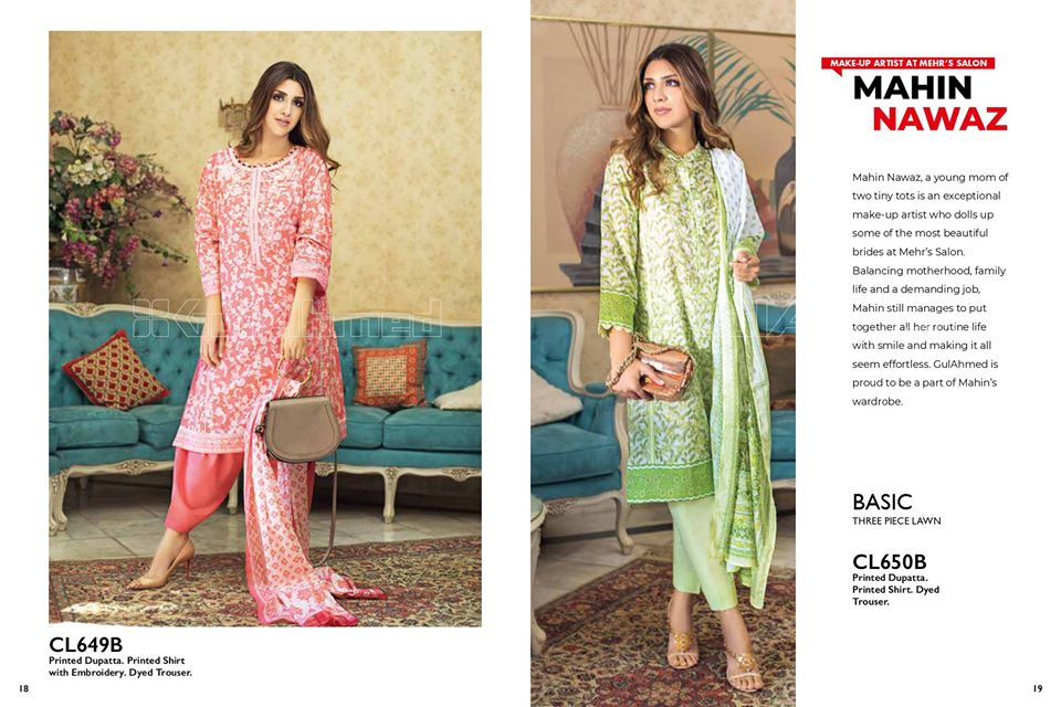 Gul Ahmed SpringSummer Dresses Collection 2020 For Mothers (9)