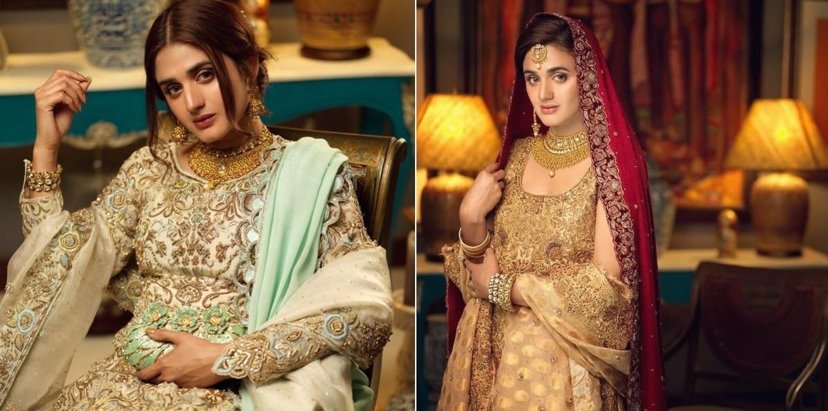 Hira Mani Pakistani Actress Latest Bridal Photo Shoot 2020 (1)