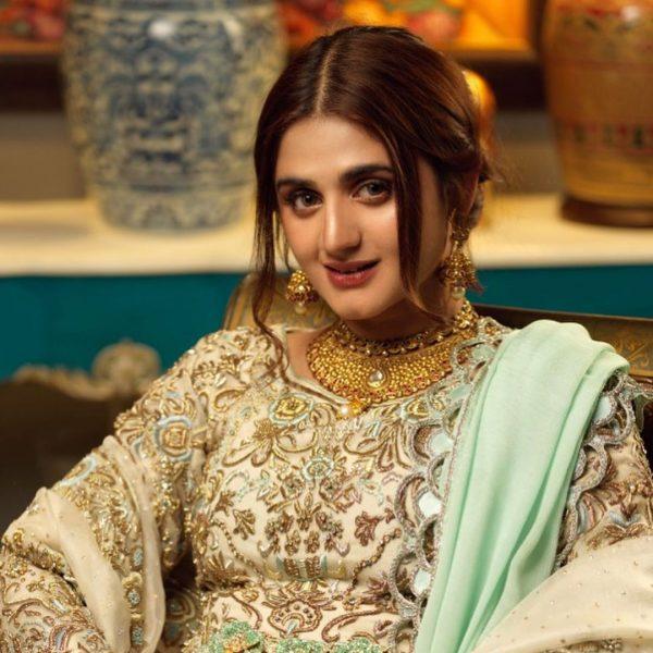 Hira Mani Pakistani Actress Latest Bridal Photo Shoot 2020 (2)