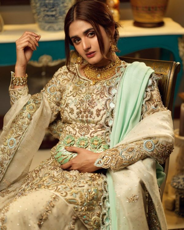 Hira Mani Pakistani Actress Latest Bridal Photo Shoot 2020 (4)