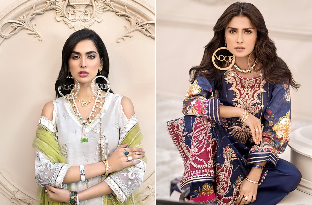 Noor Luxury Lawn Collection 2020 Looks By Saadia Asad (1)