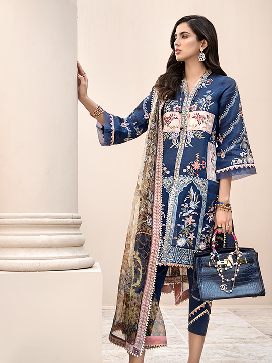 Noor Luxury Lawn Collection 2020 Looks By Saadia Asad (16)