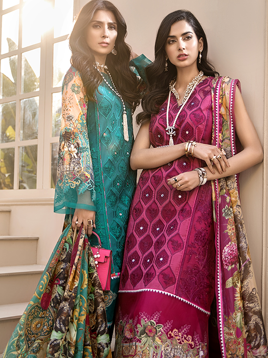 Noor Luxury Lawn Collection 2020 Looks By Saadia Asad (19)