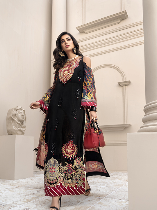 Noor Luxury Lawn Collection 2020 Looks By Saadia Asad (2)