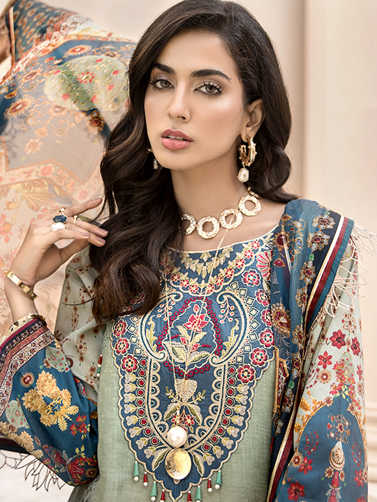 Noor Luxury Lawn Collection 2020 Looks By Saadia Asad (3)