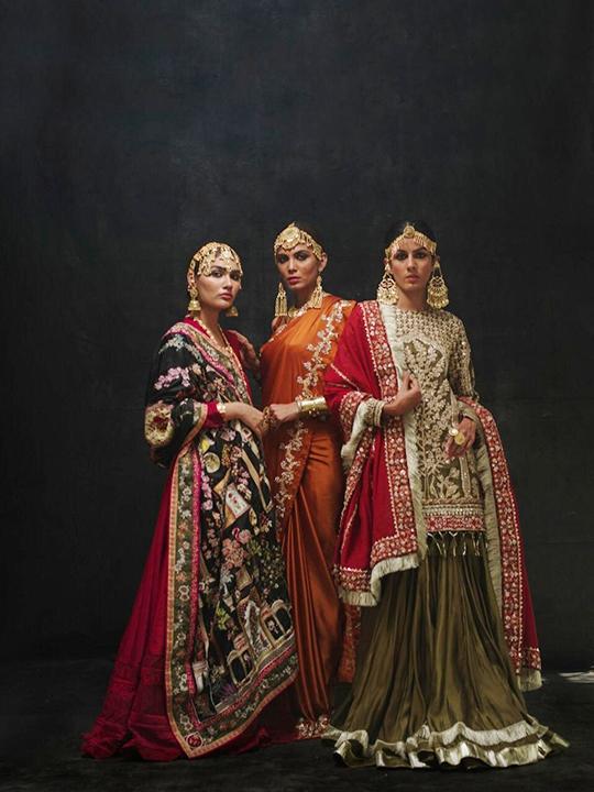 Sanaii Bridal Wear Collection 2020 By Nida Azwer (1)
