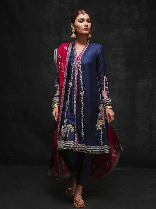 Sanaii Bridal Wear Collection 2020 By Nida Azwer (3)