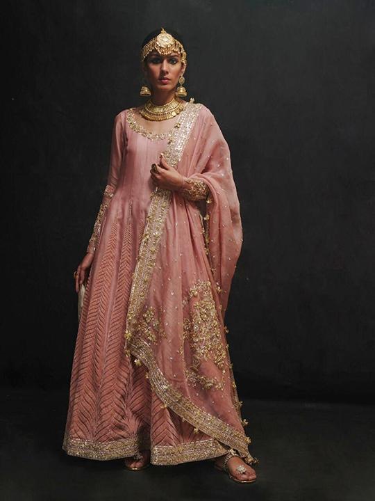 Sanaii Bridal Wear Collection 2020 By Nida Azwer (7)