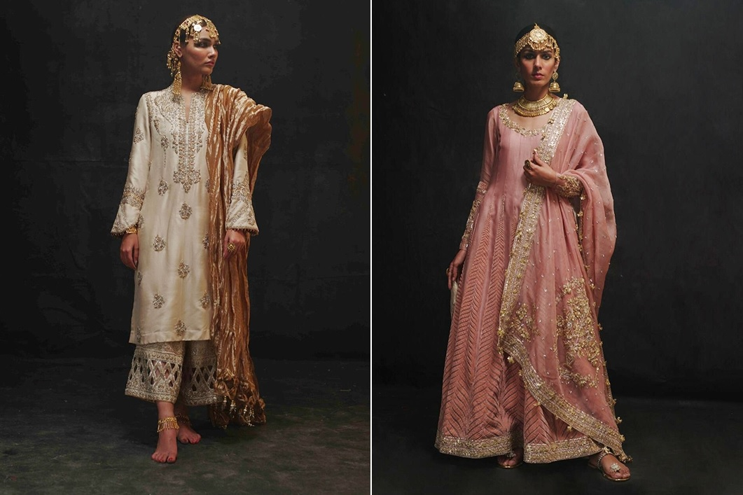 Sanaii Bridal Wear Collection 2020 By Nida Azwer (8)