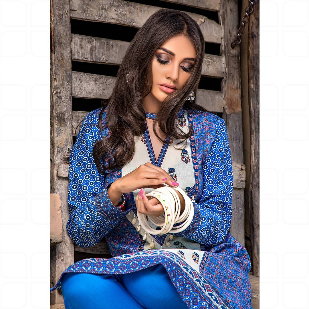 GulAhmed Women's Eid Dresses Collection 2020 (7)
