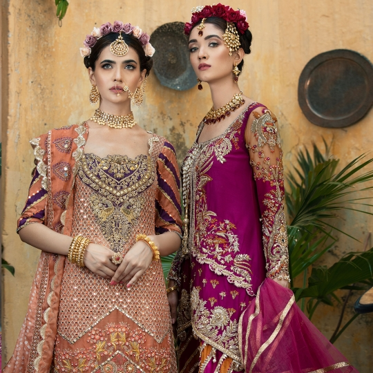 Dahlia Womens Wear Wedding Season Collection Shiza Hasan