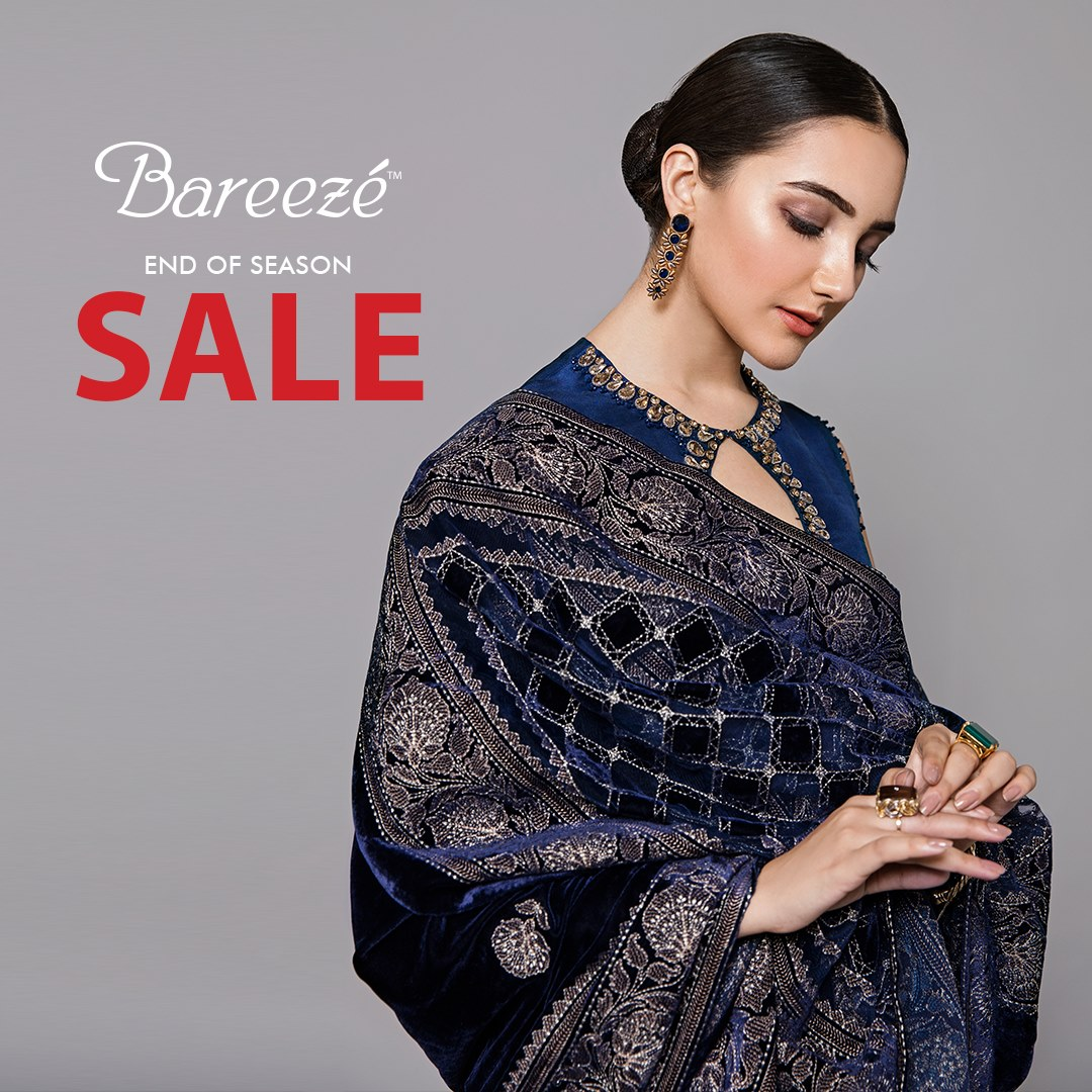 Bareeze end of season Fully embroidered Winter Collection 2021 (2)