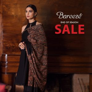 Bareeze end of season Fully embroidered Winter Collection 2021 (7)
