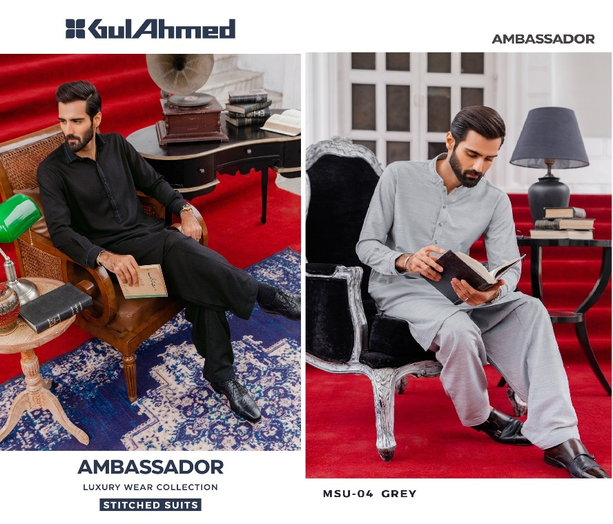 Mens Wear Luxury Ambassador Collection 2021 By Gulahmed