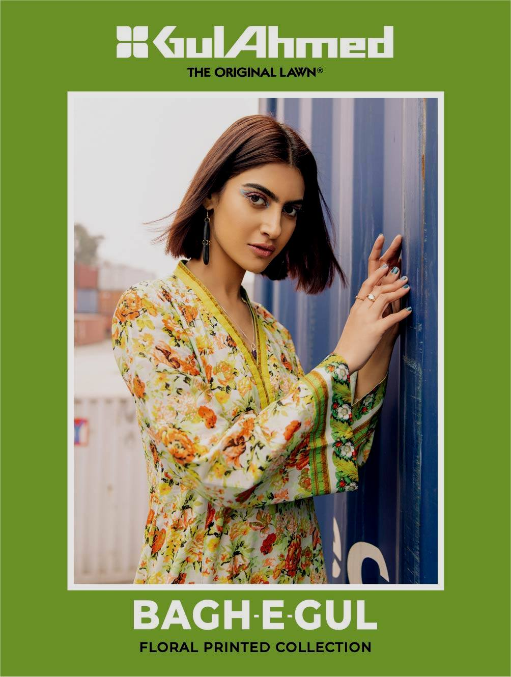 Bagh e Gul Summer Lawn Floral Printed Collection 2021 By Gul Ahmed