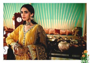 Shehr-e-Uns Unstitched Eid Dresses Collection 2021 By Cross Stitch (10)