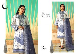 Shehr-e-Uns Unstitched Eid Dresses Collection 2021 By Cross Stitch (13)