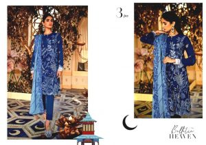 Shehr-e-Uns Unstitched Eid Dresses Collection 2021 By Cross Stitch (14)