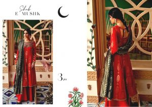 Shehr-e-Uns Unstitched Eid Dresses Collection 2021 By Cross Stitch (16)