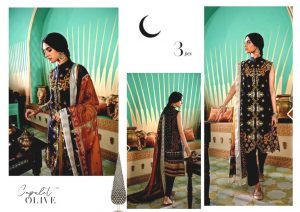 Shehr-e-Uns Unstitched Eid Dresses Collection 2021 By Cross Stitch (18)