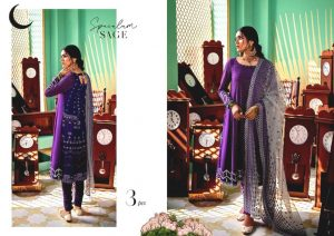 Shehr-e-Uns Unstitched Eid Dresses Collection 2021 By Cross Stitch (33)