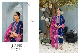 Unstitched Luxury Dresses Eid 2021 Collection By Cross Stitch (14)