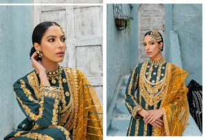 Unstitched Luxury Dresses Eid 2021 Collection By Cross Stitch (15)