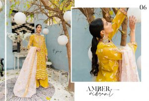 Unstitched Luxury Dresses Eid 2021 Collection By Cross Stitch (7)