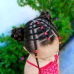 Baby Girl's Latest Hair Styles Ideas 2022 (22)