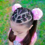Baby Girl's Latest Hair Styles Ideas 2022 (23)