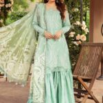 Womens Unstitched Cotton Sateen Dresses Collection 2021-22 By Maria B (3)